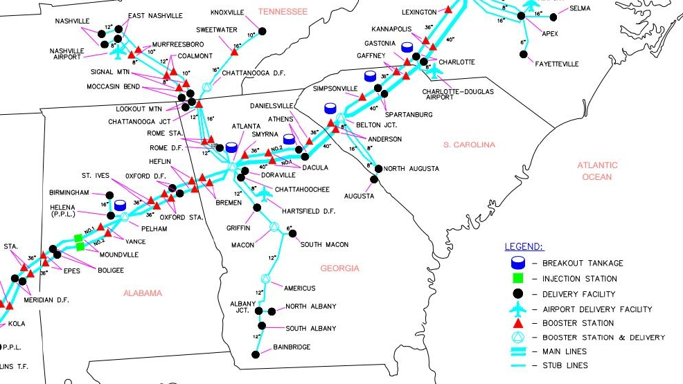 Colonial Announces Construction Of Temporary Pipeline  WCIV