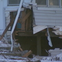 Car hits multiple Green Bay homes, 2 adults and 1 child misplaced
