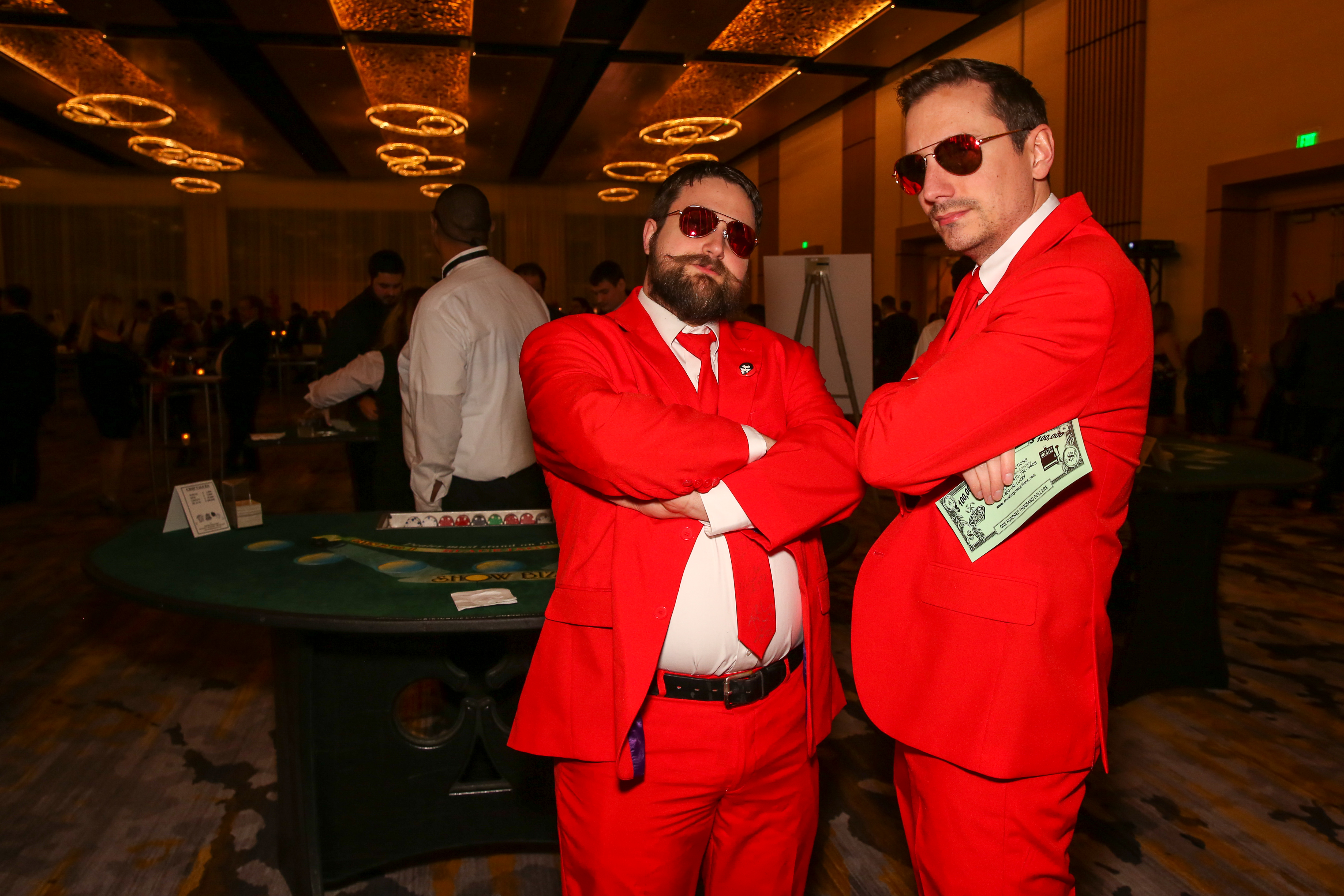 Players from the Washington Capitals mingled with fans at their annual Casino Night, which was held at MGM National Harbor, on January 4. The proceeds of the evening  went to charity and gave fans a chance to get up close and personal with their favorite hockey players over the poker table. (Amanda Andrade-Rhoades/DC Refined)<p></p>