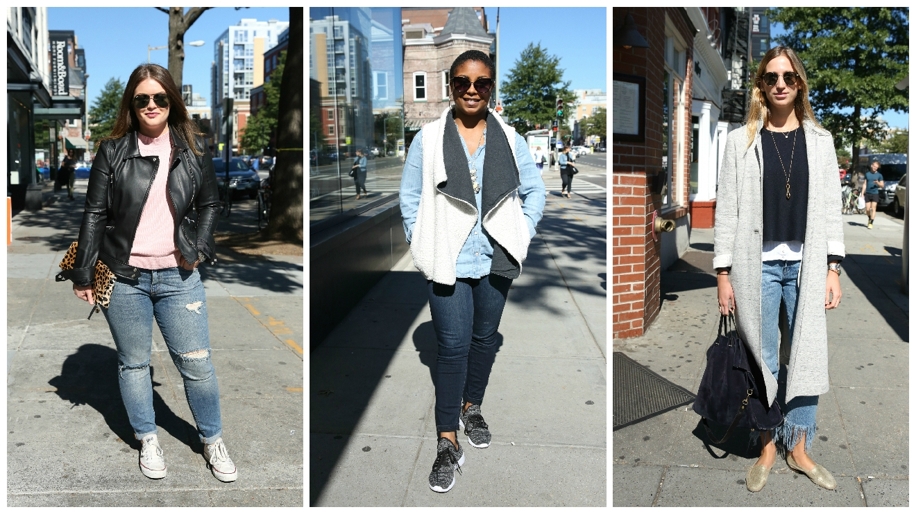 It's time to break out the boots and jackets! Here are our favorite looks from the streets of the DMV. (Amanda Andrade-Rhoades/DC Refined)