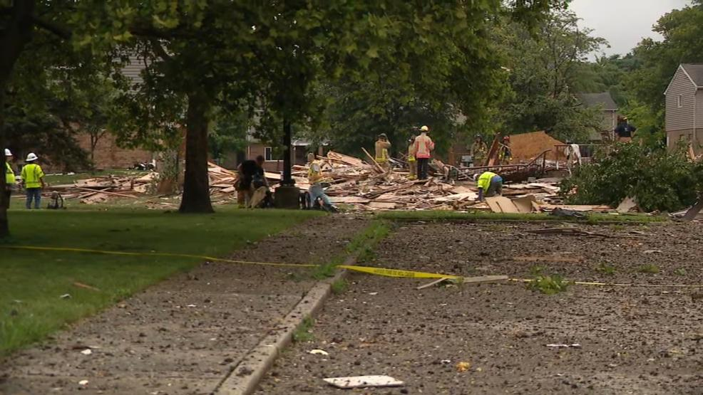 Two people were critically injured when a house exploded in east Columbus, near downtown (WSYX/WTTE)<p></p>
