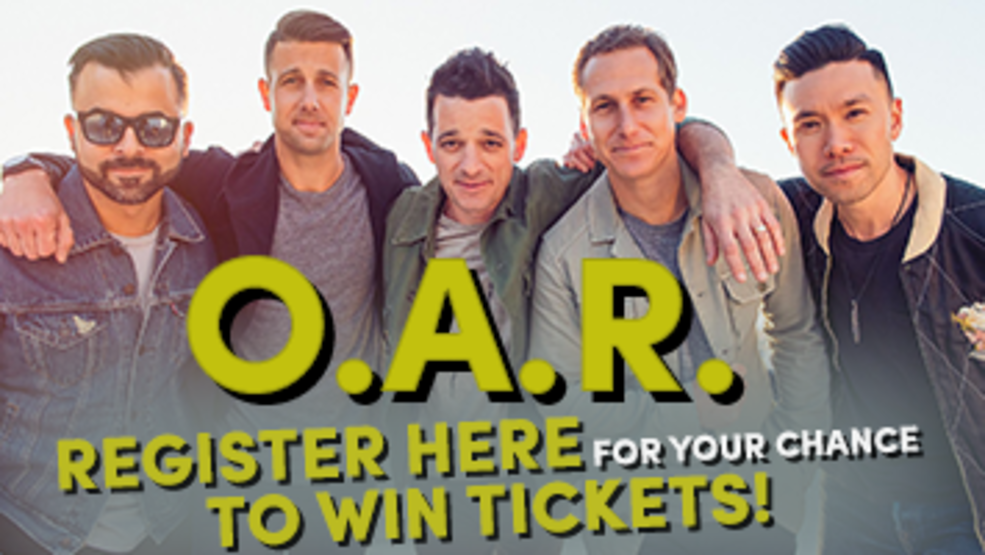 O.A.R. Ticket Givaway