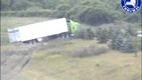 Tractor-trailer crashes on NYS Thruway in Van Buren