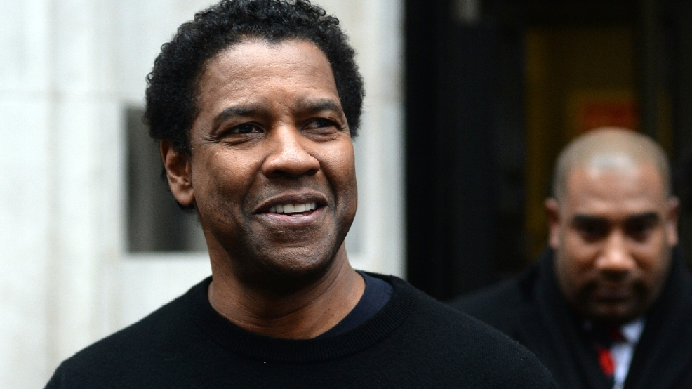 Father of twins Denzel Washington advises dad-to-be George Clooney 'sleep now'