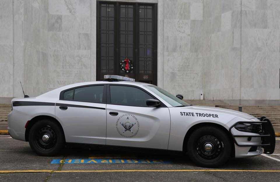 Oregon State Police revealed their re-designed patrol vehicles on Dec. 22, 2017. Photo courtesy Oregon State Police{&amp;nbsp;}<p></p>
