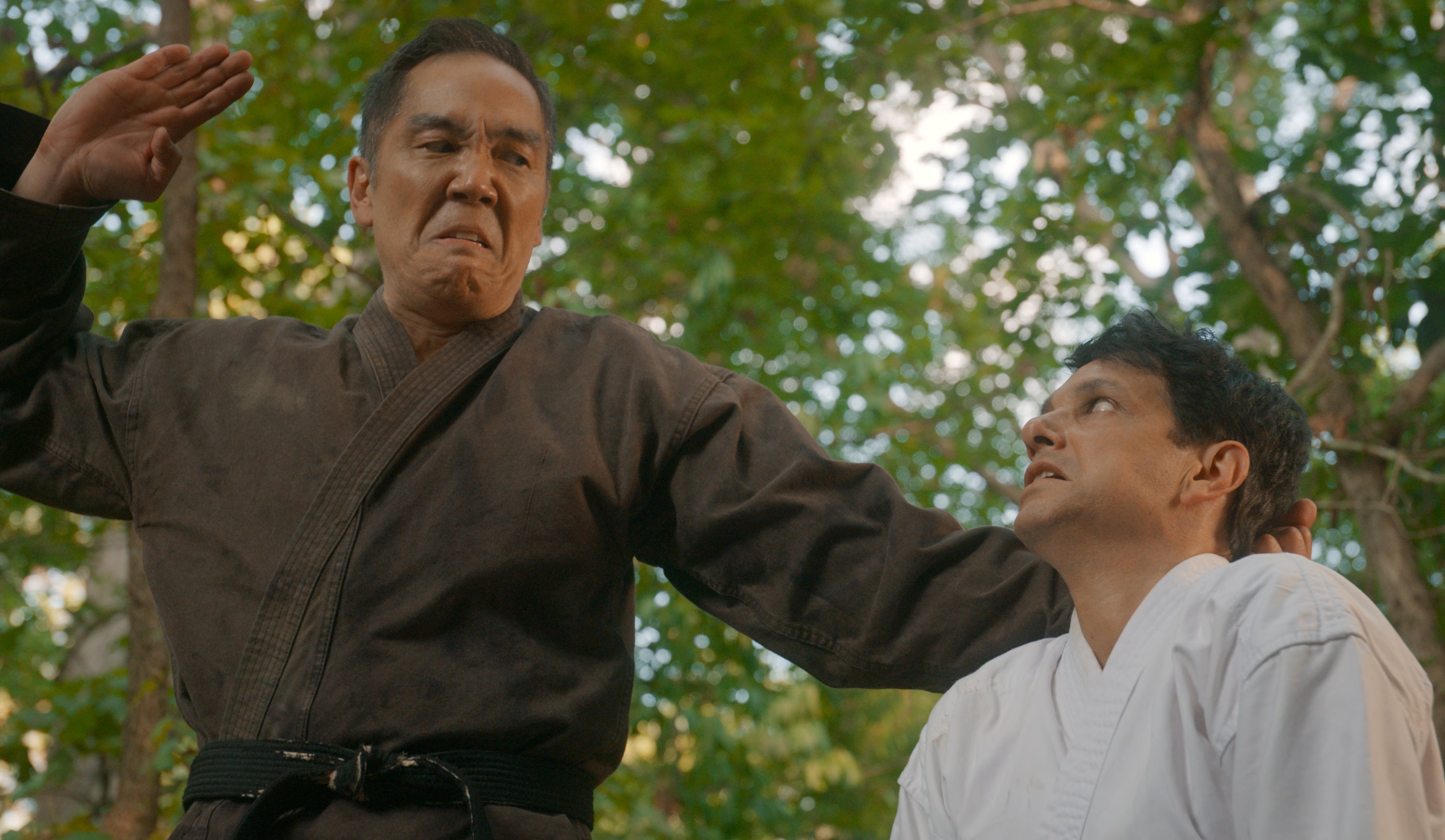 Yuji Okumoto is reprising his role of Chozen in Cobra Kai Season 3. (Image: Netflix)