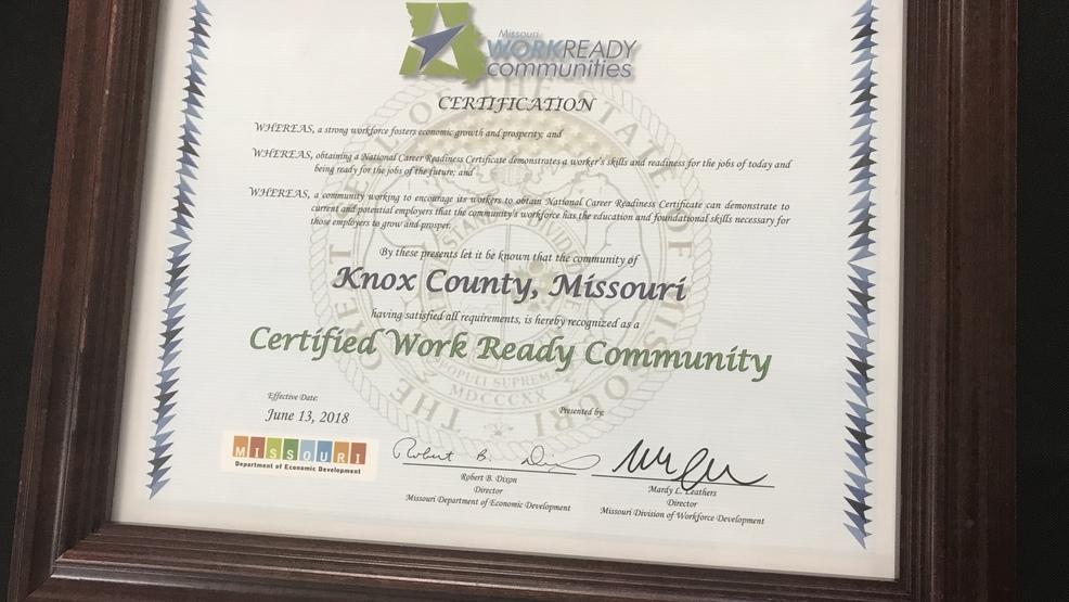NEMO community celebrates \'Work Ready\' distinction | KHQA