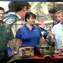 Boy Scouts raising money by selling popcorn