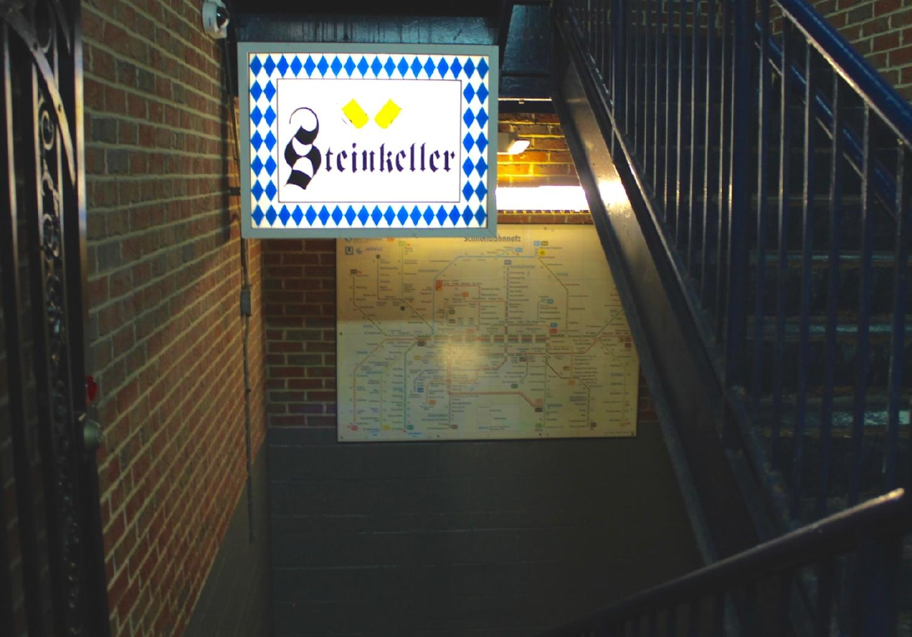 "Translated to ""stone cellar,"" Steinkeller Bavarian Bier Hall, an authentic German beer hall that serves over 15 German beers in Oxford, literally embodies its namesake in the John D. Minnis building. ADDRESS: 15 E. High St., Oxford, OH 45056 / Image: Rose Brewington // Published: 4.2.17"