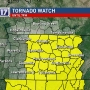 CODE RED: Tornado Watch for most of Middle Tennessee