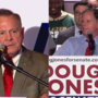 Roy Moore, Doug Jones make final campaign pushes ahead of Alabama US Senate election