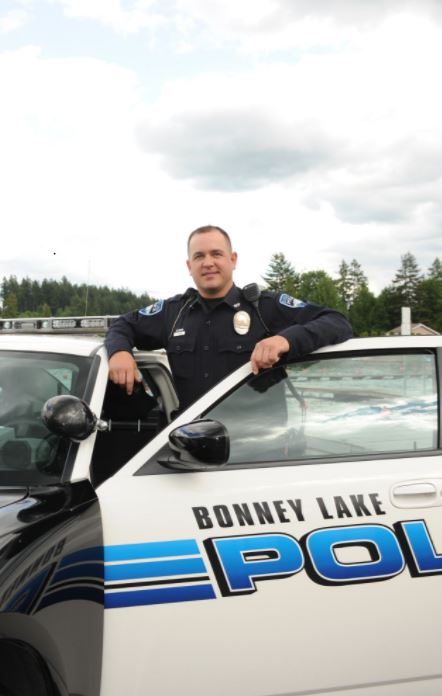 One of those killed Saturday, March 3,2017, in a Kittitas County avalanche was Bonney Lake Police Officer James Larsen. (Photo: City of Bonney Lake)