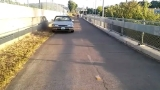 Video shows woman driving on I-205 bike path