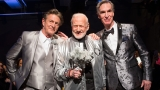 Buzz Aldrin takes one small step for menswear, one giant moonwalk at NY Fashion Week