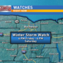 Winter storm and flood watch in WNY