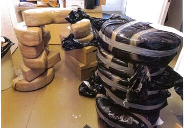 Police find 400 pounds of marijuana in cars made in Mexico