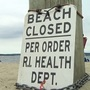 Multiple RI beaches closed for swimming; A few reopen