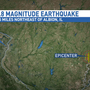 3.8 magnitude earthquake hits southern Illinois