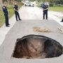 'Huge' sinkhole opens up in Fort Pierce