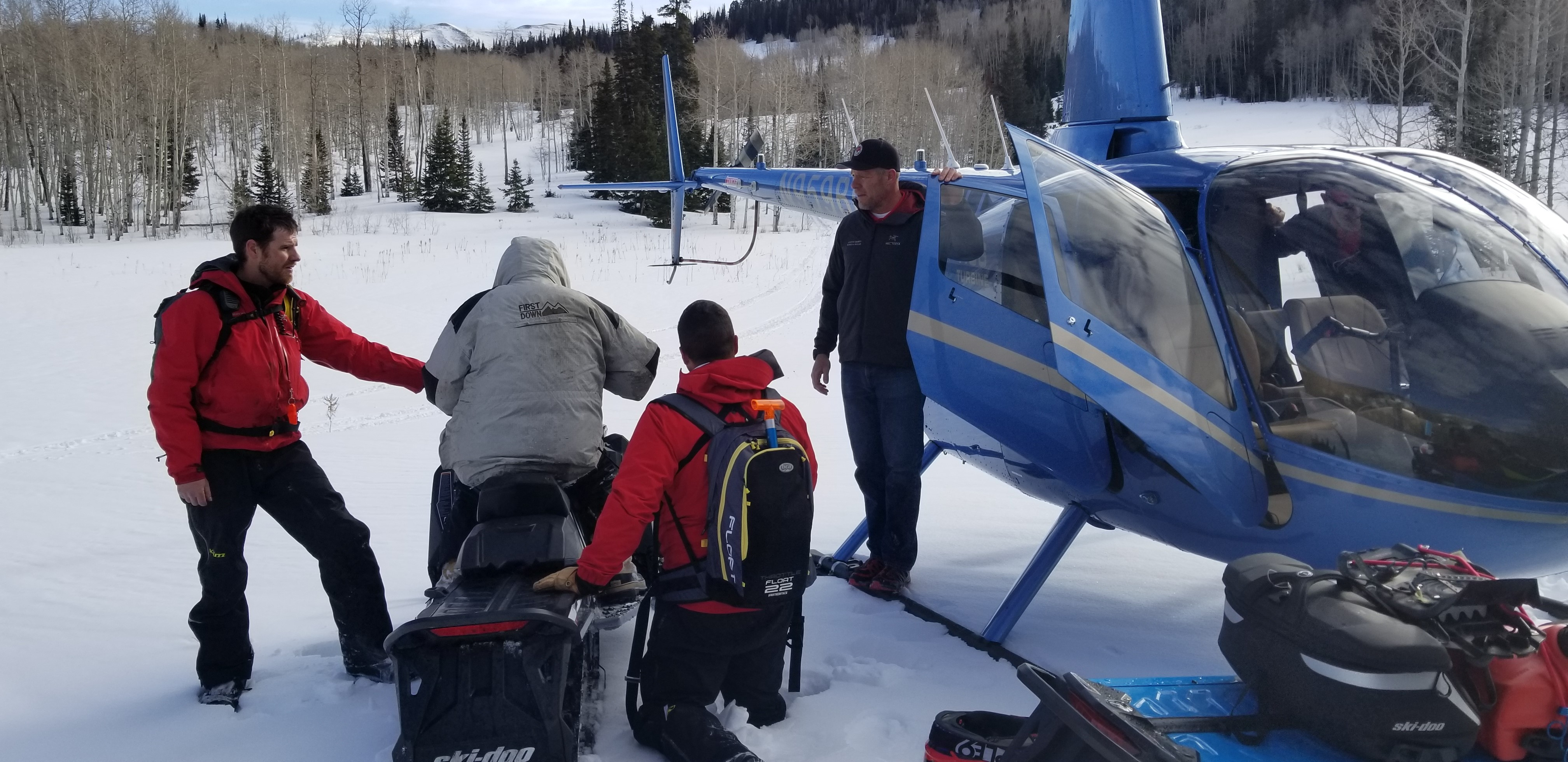 60-Year-old snowmobiler rescued after four nights stranded on Heber Mountain (Photo: Ginna Roe, KUTV)