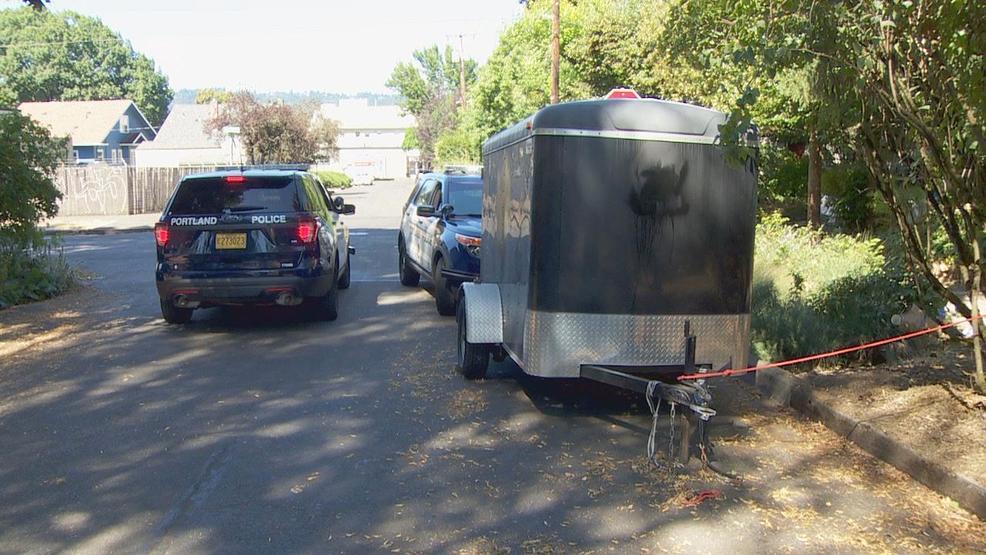 Neighbor spots stolen scout troop trailer, calls police