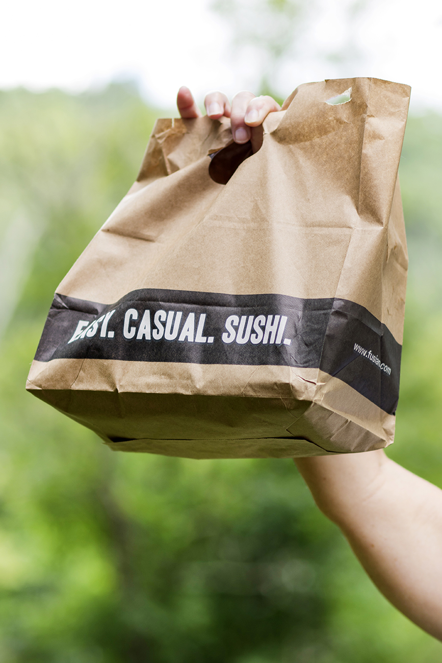 <p>To make things a little more convenient for customers, FUSIAN is currently offering free delivery on orders over $15.48. This includes their signature sushi rolls, bowls, family meal kits, and even grocery items like fresh veggies, fruits, and supplies like hand sanitizer and toilet paper. Orders can be placed at fusian.com. / Image: Allison McAdams // Published: 4.30.20<br></p>