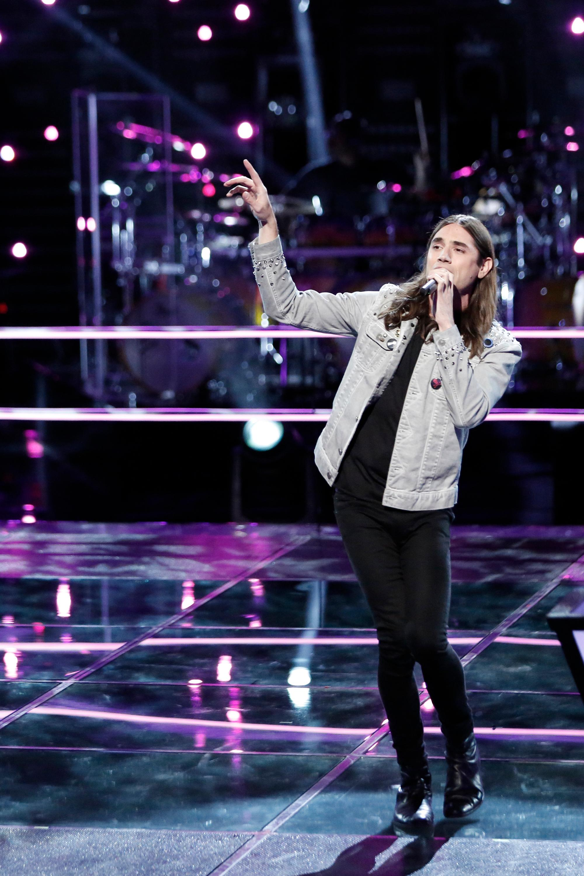 "THE VOICE -- ""Knockout Rounds"" -- Pictured: Johnny Gates -- (Photo by: Tyler Golden/NBC)"