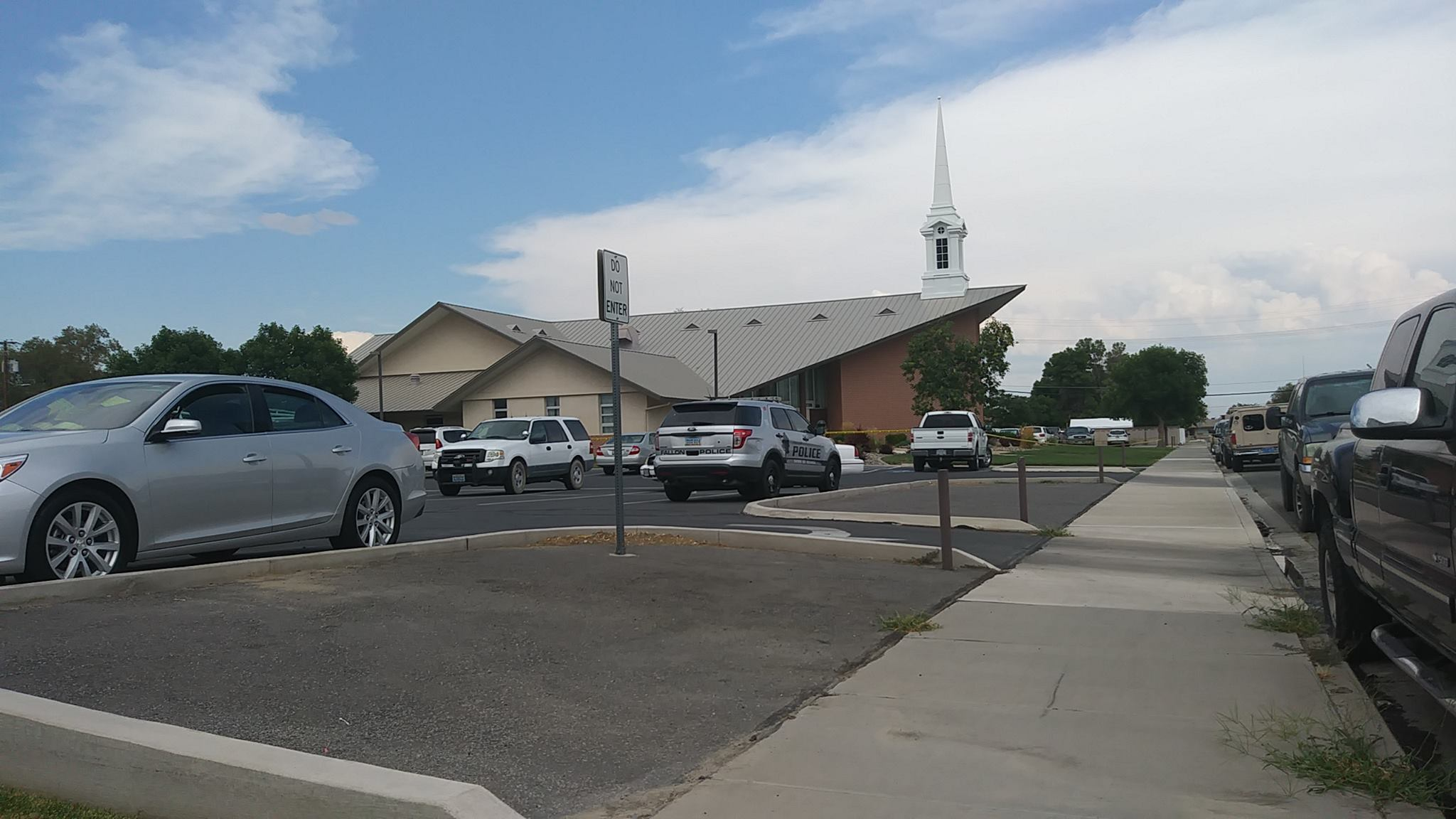 A shooting at The Church of Jesus Christ of Latter-day Saints in Fallon, Nevada, occurred Sunday afternoon. (Photo: Don Will / Facebook)<p></p>