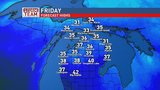 More sunshine & chilly temperatures