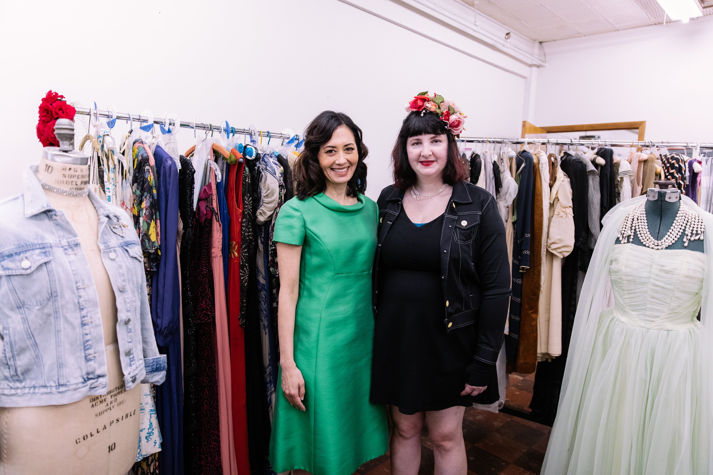 You probably know that Seattle Goodwill is a great place to score the latest looks for less. But it's also a treasure trove of amazing vintage finds! There are more than 1,900 garments, 900 shoes, 500 hats and 1000 pieces of jewelry, gloves and other accessories in the collection. (Courtesy: Seattle Goodwill)