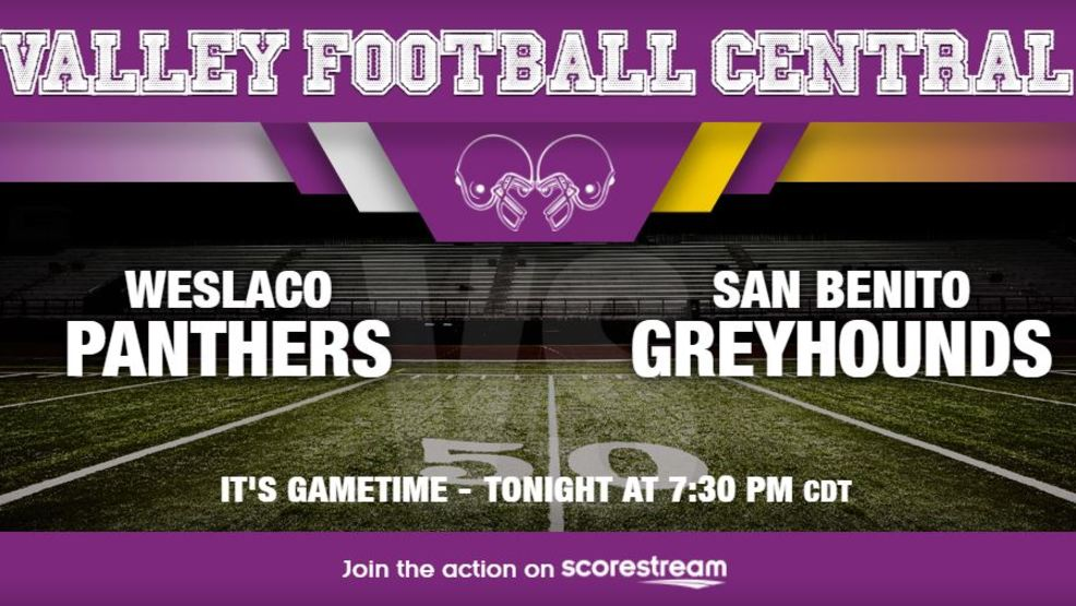 Listen Live: Weslaco Panthers at San Benito Greyhounds