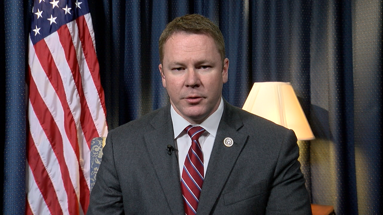 Rep. Warren Davidson (R-OH) spoke to WKEF from Capitol Hill on Feb. 1, 2017. (SBG)