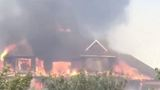 Man watches his home of 20 years burn in Uintah Fire