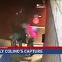 Exclusive video shows murder suspect's arrest after escape