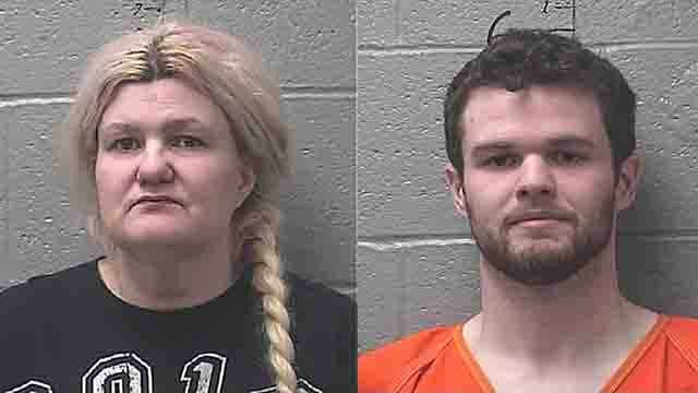 Malissa Ann Ancona, 44, and her son, 24-year-old Paul Edward Jinkerson Jr., have been charged in connection with the death of Ku Klux Klan leader Frank Ancona.