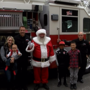 Santa arrives at Rogue Valley Mall