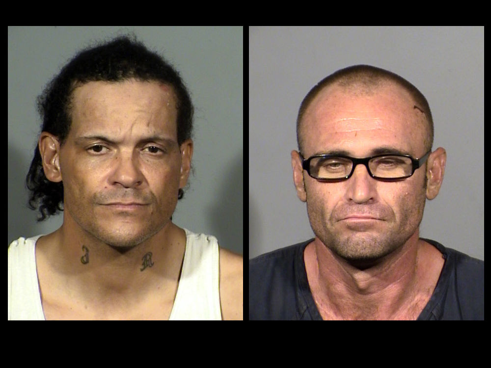 Jimmy Roper and Larry Rinker were arrested in relation to a drive-by shooting at the 3300 block of Cod Drive (LVMPD)