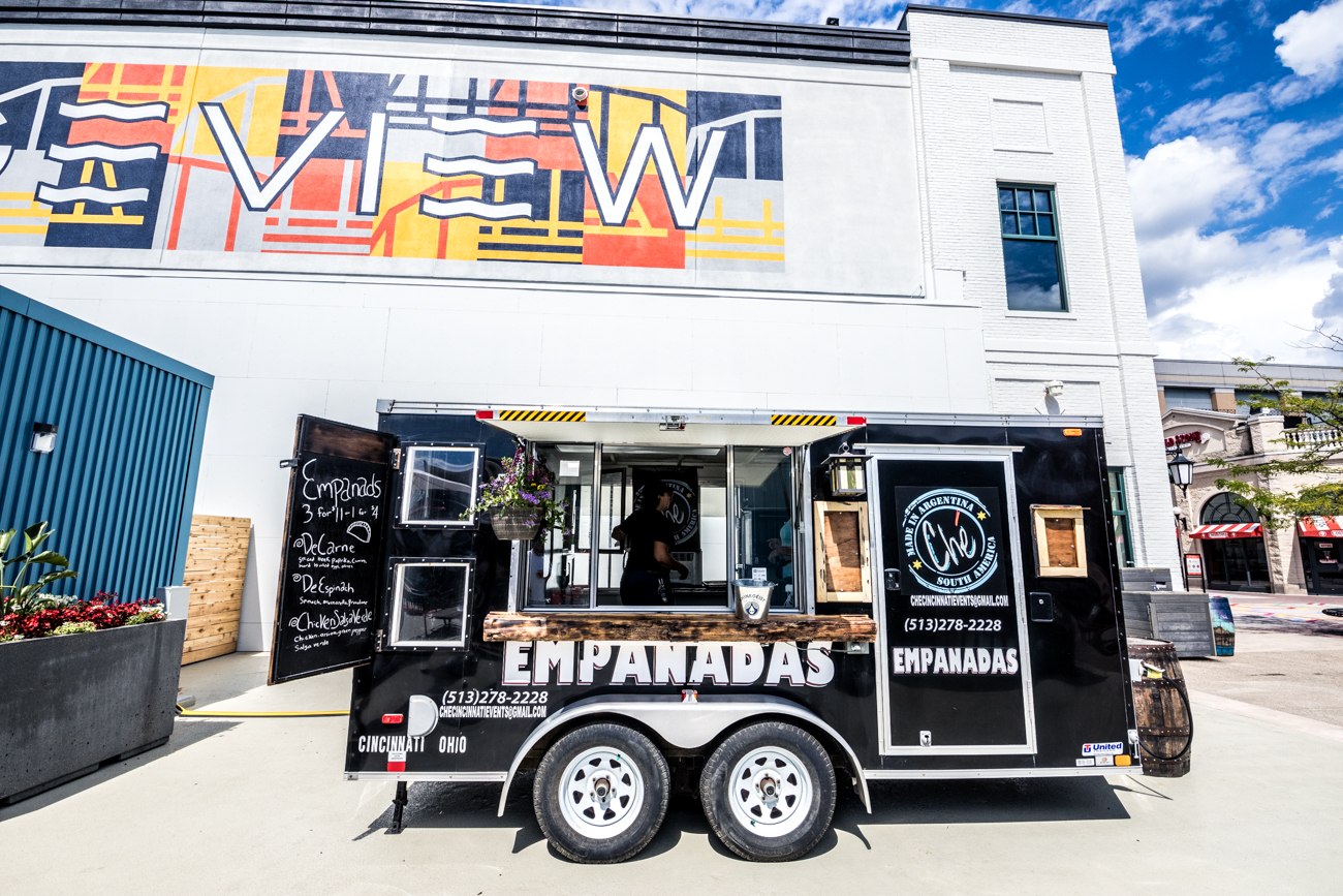 Che on Wheels is the food truck version of the beloved OTR empanada eatery, Che. / Image: Catherine Viox // Published: 6.25.20