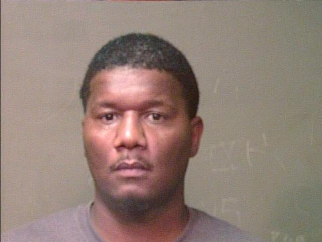 Travis Williams, 38, was cited Sept. 9 for assault and battery. Mug from a previous arrest. (Oklahoma County Jail)