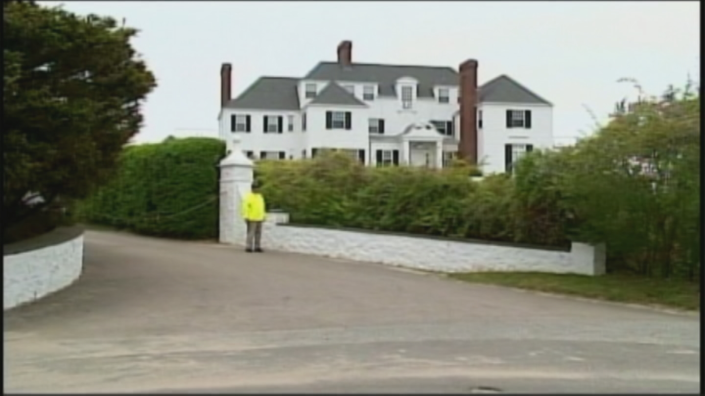 Taylor Swift's mansion in Watch Hill. (WJAR)