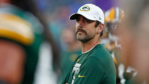 Aaron Rodgers (back tightness) did not play vs. Baltimore.