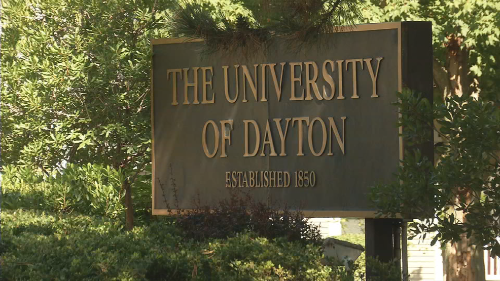 racial slur written in snow outside university of dayton residence