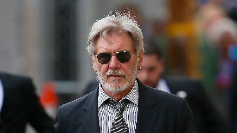 Audio: Harrison Ford calls himself a 'schmuck' after airport incident