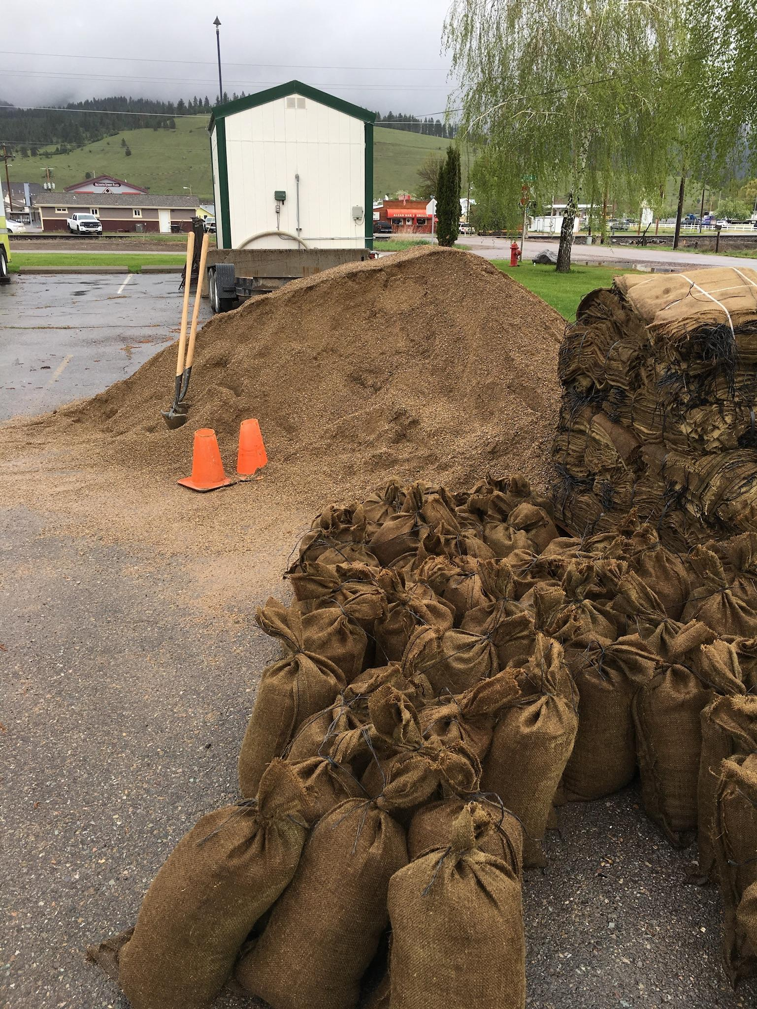 Sand Bags at Frenchtown Fire Station.jpeg