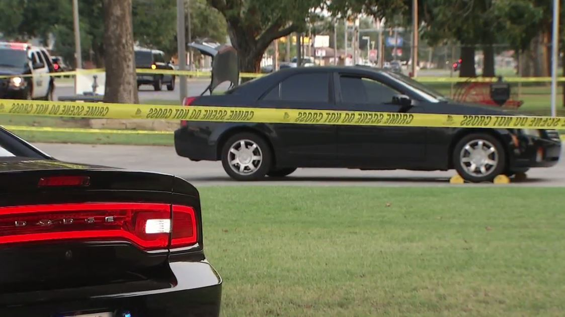 Police investigate the scene of a fatal shooting Sept. 4 in Bethany. (KOKH/FILE)