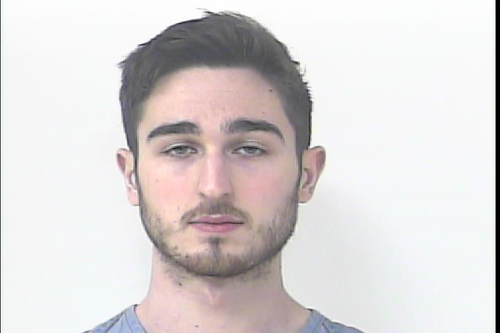 Evan Amerio. Image Courtesy: St. Lucie County Sheriff's Office.