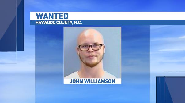 John Williamson is wanted for possession of a firearm by a felon and assault with a deadly weapon, inflicting serious injury in relation to the shooting of Matthew Walker. (Photo credit: Haywood County Sheriff's Office)