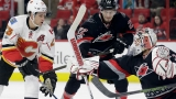 Gaudreau has 2 goals and an assist, Flames beat Hurricanes