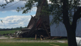Saginaw County residents clean up following Saturday's storms