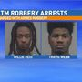 Two men accused of robbing victim at Gainesville ATM